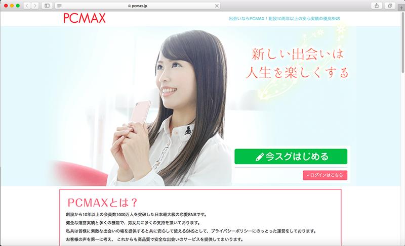 PCMAXHPインデックス